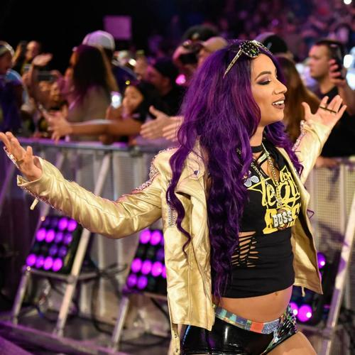 Sasha Banks WORN & SIGNED Connor's Cure T-Shirt (Connor's Cure: RAW - 09/03/18)