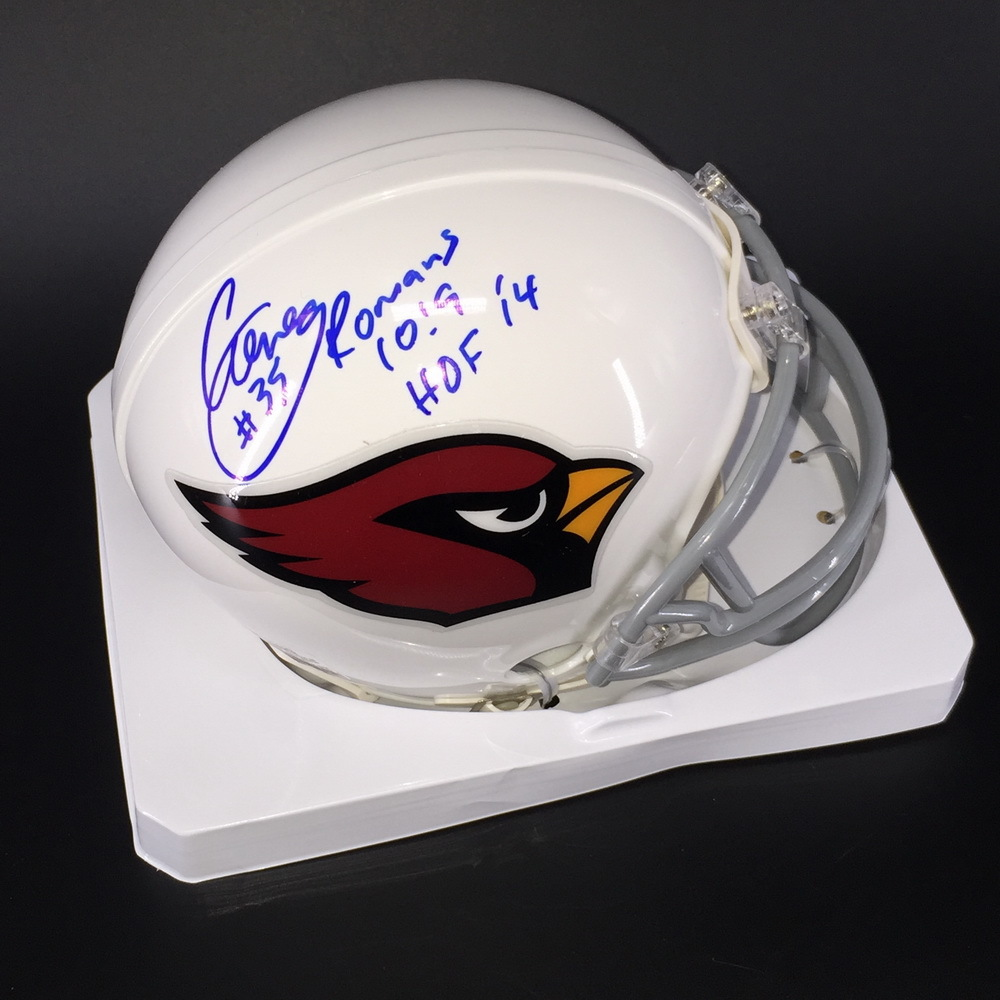 HOF - Cardinals Aeneas Williams Signed Mini Helmet