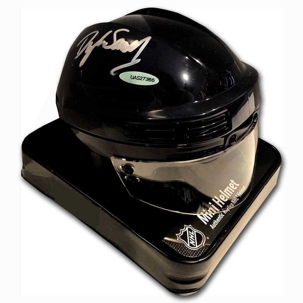 Dylan Samberg Autographed NHL Replica Mini-Helmet