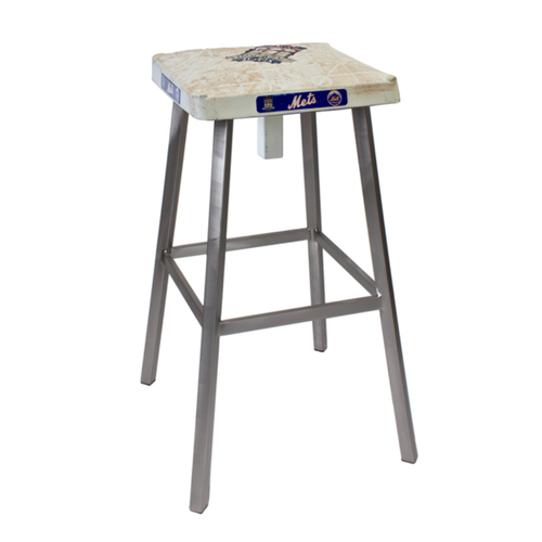 Photo of Tokens & Icons New York Mets Game Used Base Stool