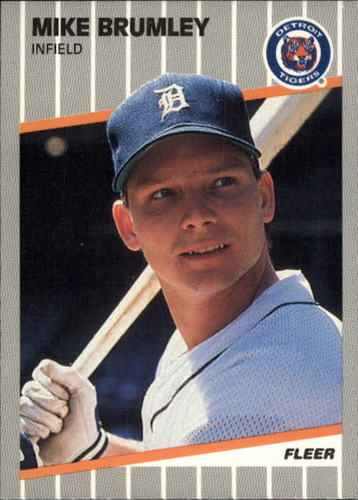 Photo of 1989 Fleer Update #30 Mike Brumley