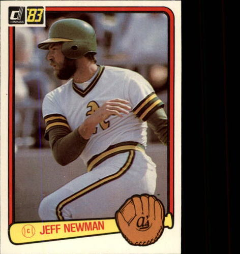 Photo of 1983 Donruss #635 Jeff Newman