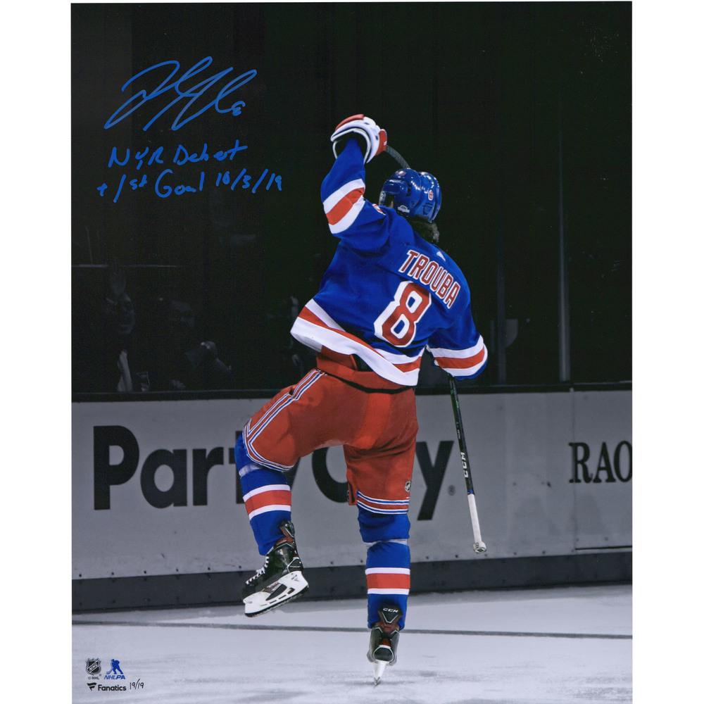 Jacob Trouba New York Rangers Autographed 16