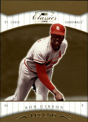 Photo of 2001 Donruss Classics #159 Bob Gibson LGD