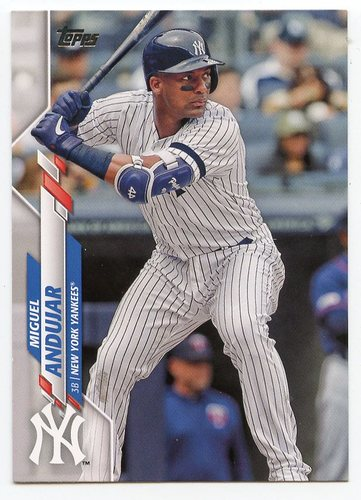 Photo of 2020 Topps #398 Miguel Andujar