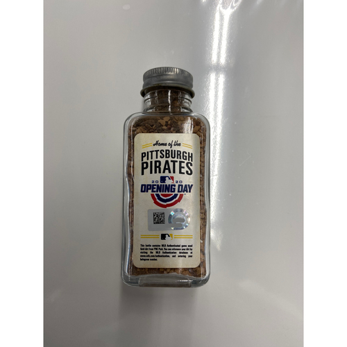 Photo of 2020 Opening Day Game-Used Dirt Jar - PNC Park