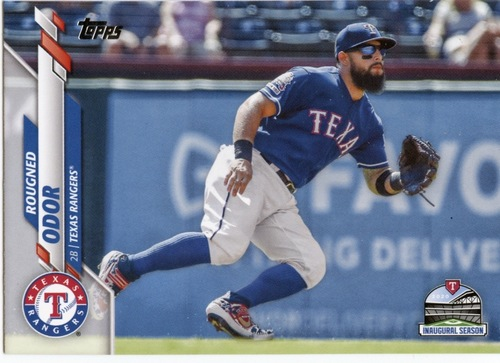 Photo of 2020 Topps #657 Rougned Odor