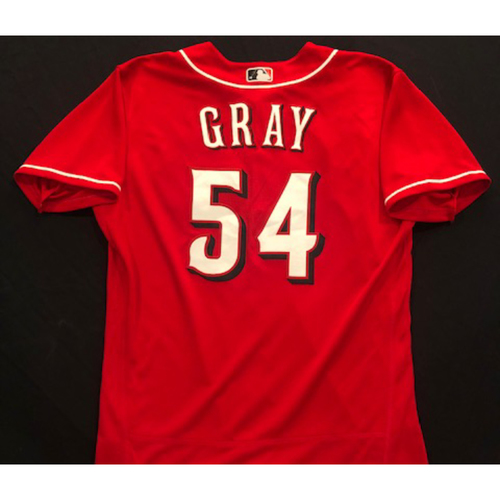 Photo of Sonny Gray -- 2020 Spring Training Jersey -- Team-Issued -- Size 44