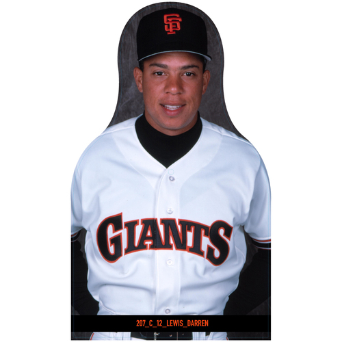 Photo of Giants Community Fund: Giants Darren Lewis Cutout