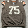 Crucial Catch - Browns Joel Bitonio Game Used Jersey (10/11/20) Size 50