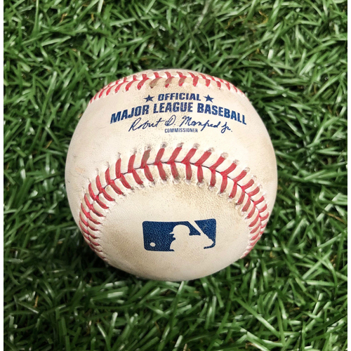 Photo of Game Used Baseball: Mike Zunino foul ball off Zack Wheeler - September 26, 2020 v PHI