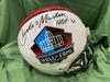 PCC - Jets Curtis Martin autographed Hall of Fame Helmet - Benefitting the Marty Lyons Foundation