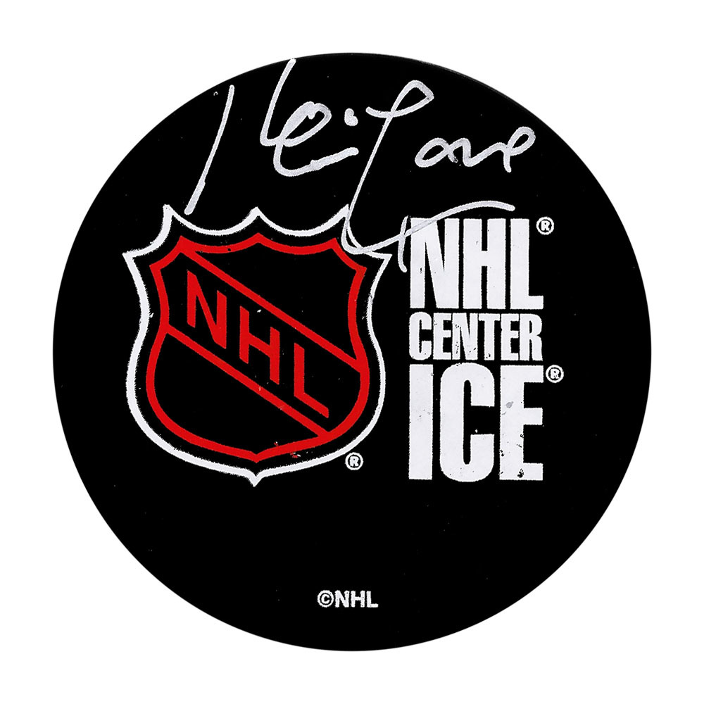 Kevin Lowe Autographed NHL Puck