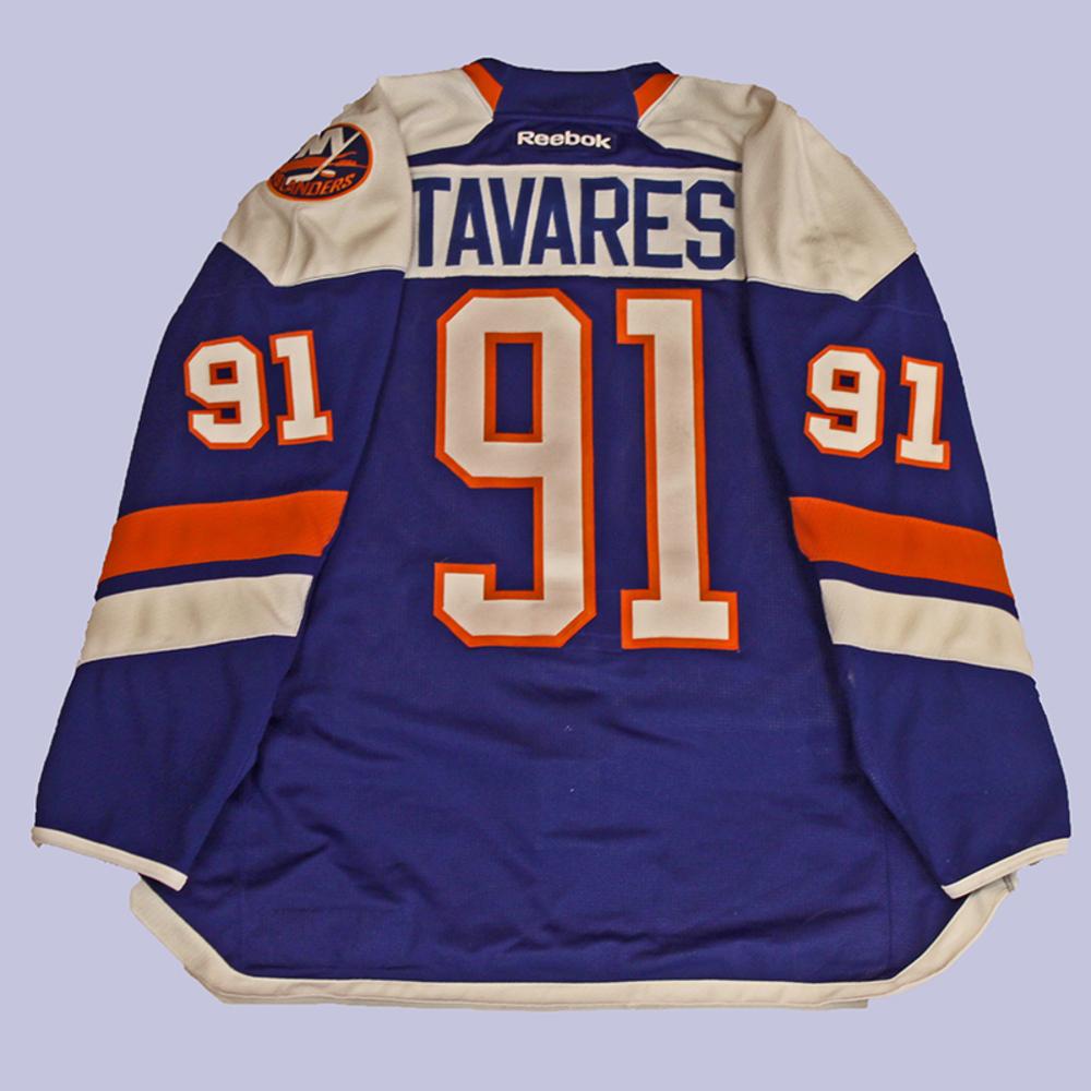 e7ef5fa3e John Tavares - Game Worn Alternate Jersey - 2014-15 Season - New York  Islanders