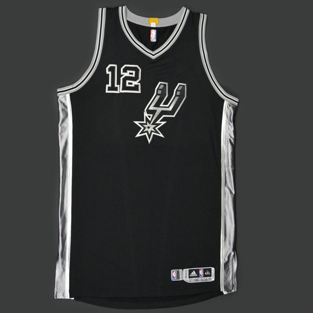 low priced f5be7 26a2f LaMarcus Aldridge - San Antonio Spurs - Game-Worn Jersey ...