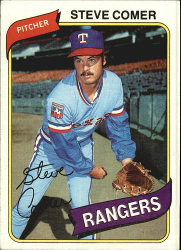 Photo of 1980 Topps #144 Steve Comer