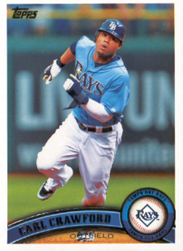 Photo of 2011 Topps #25A Carl Crawford