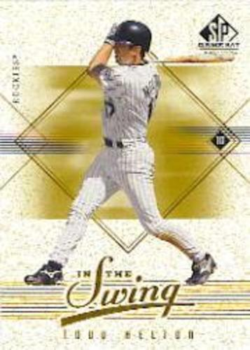 Photo of 2001 SP Game Bat Edition In the Swing #IS10 Todd Helton