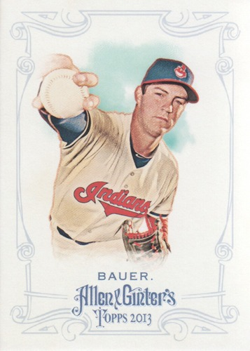 Photo of 2013 Topps Allen and Ginter #107 Trevor Bauer