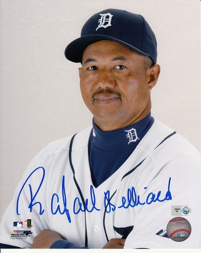 Photo of Rafael Belliard Autographed 8x10