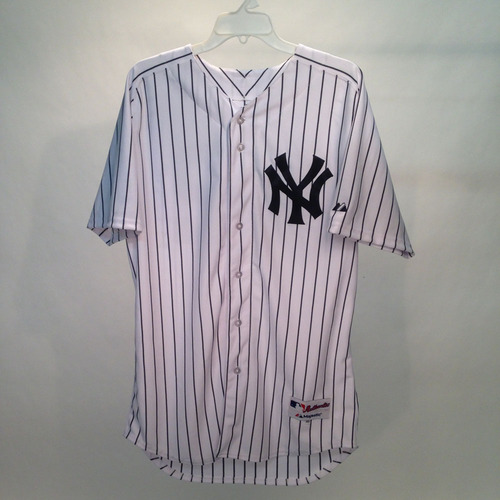 2014 Jackie Robinson Day Jersey - New York Yankees Team Autographed Jersey