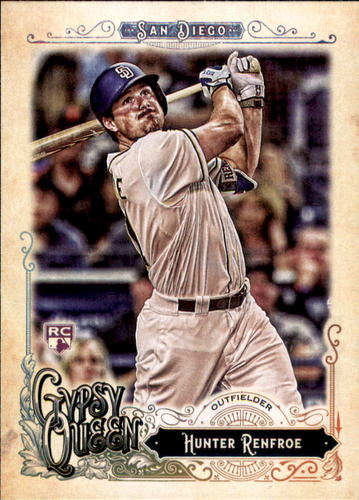 Photo of 2017 Topps Gypsy Queen #48 Hunter Renfroe Rookie Card