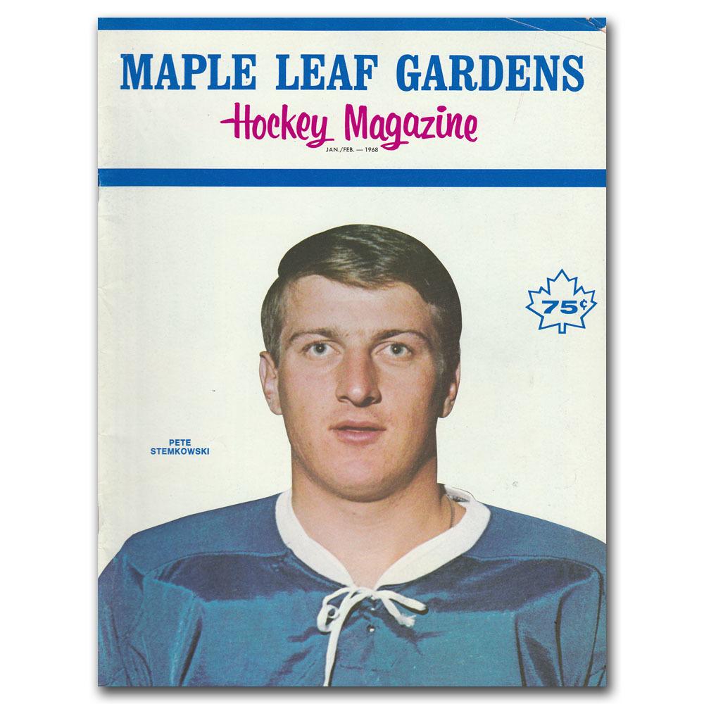 Toronto Maple Leafs Program - January 24, 1968