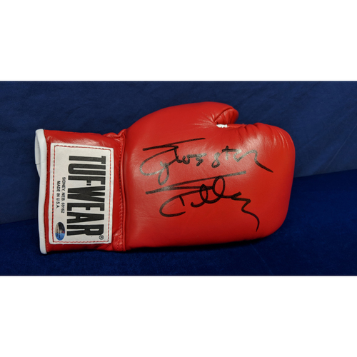 Photo of Kershaw's Challenge: Sylvester Stallone and Dolph Lundgren Autographed Boxing Gloves - Not MLB Authenticated