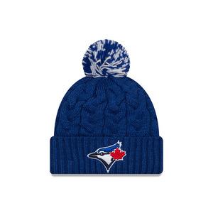 21d02debc5e Toronto Blue Jays Youth Jr. Cozy Cable Knit Cap by New Era