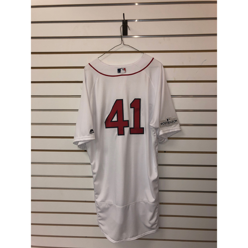 Photo of Chris Sale Team Issued 2017 Home Jersey