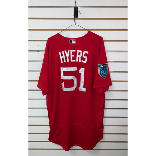 Photo of Tim Hyers Team Issued 2018 Spring Training Jersey