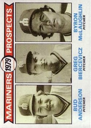 Photo of 1979 Topps #712 Bud Anderson RC/Greg Biercevicz RC/Byron McLaughlin RC