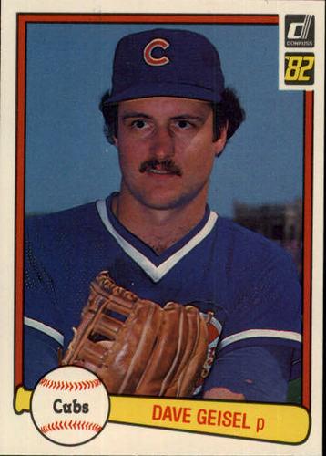 Photo of 1982 Donruss #633 Dave Geisel