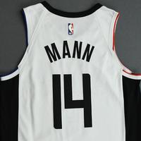 Terance Mann - Los Angeles Clippers - Game-Worn City Edition Jersey - 2019-20 Season - Dressed, Did Not Play