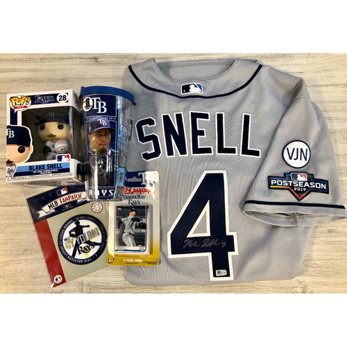 Photo of Rays Baseball Foundation Player Package: Blake Snell