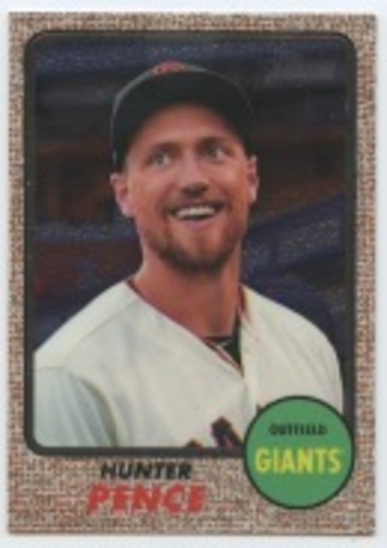 Photo of 2017 Topps Heritage Chrome #THC439 Hunter Pence
