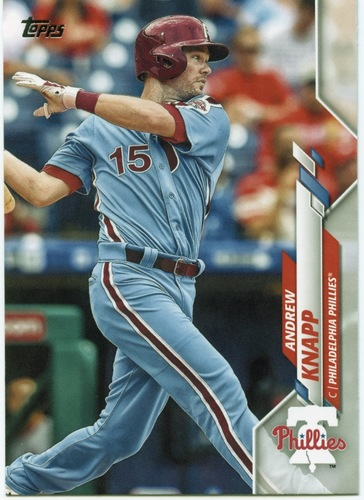 Photo of 2020 Topps #662 Andrew Knapp