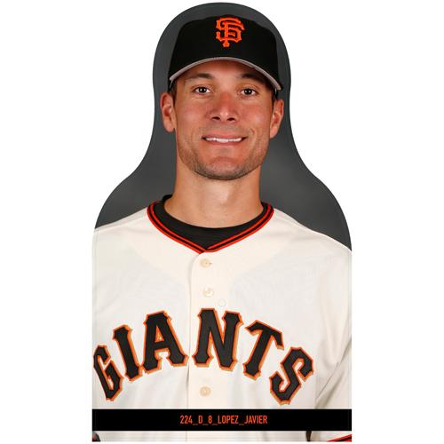 Giants Community Fund: Giants Javier Lopez Cutout
