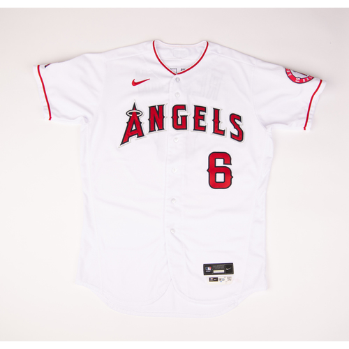 Photo of Anthony Rendon 2020 Game Used Jersey - 9/19 vs. TEX