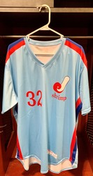 Photo of Jacksonville Expos Fauxback Jersey #32 Size 48