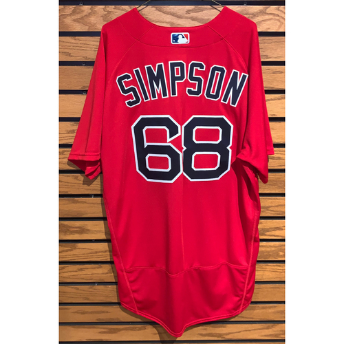 Photo of Caleb Simpson Team Issued 2021 Spring Training Jersey