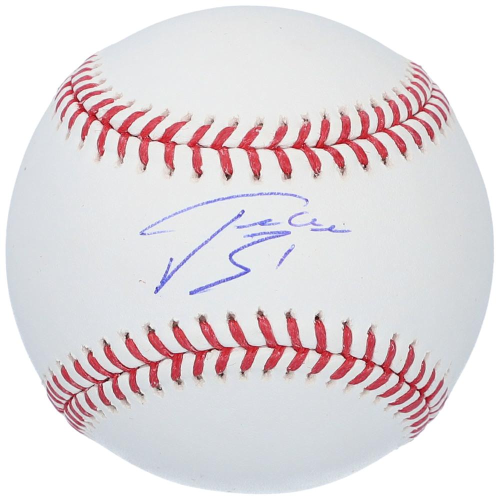Philipp Grubauer Seattle Kraken Autographed Baseball - NHL Auctions Exclusive