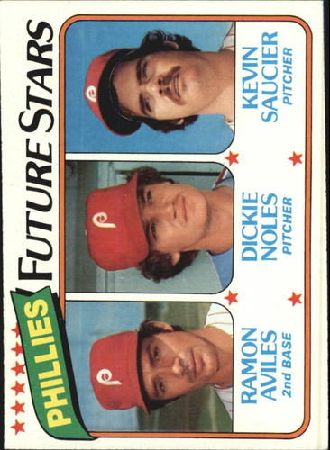 Photo of 1980 Topps #682 Ramon Aviles RC/Dickie Noles RC/Kevin Saucier RC