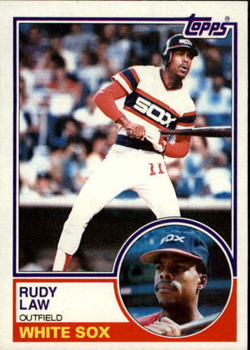 Photo of 1983 Topps #514 Rudy Law