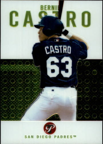 Photo of 2003 Topps Pristine #116 Bernie Castro C RC