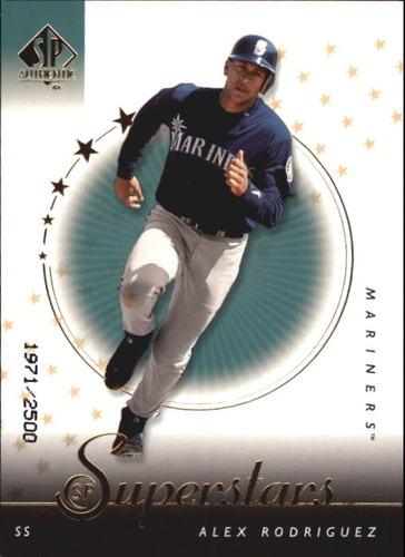 Photo of 2000 SP Authentic #98 Alex Rodriguez SUP