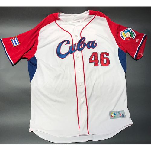 Photo of 2009 World Baseball Classic Jersey - Cuba Jersey, Peraza #46
