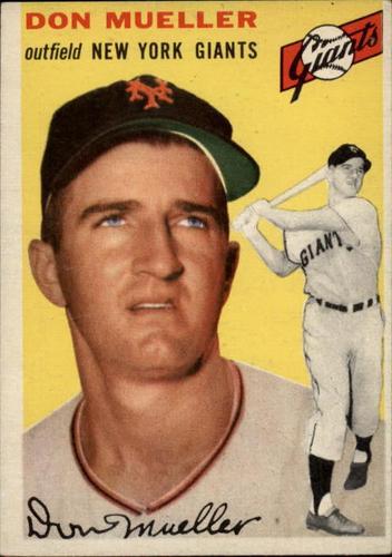 Photo of 1954 Topps #42 Don Mueller