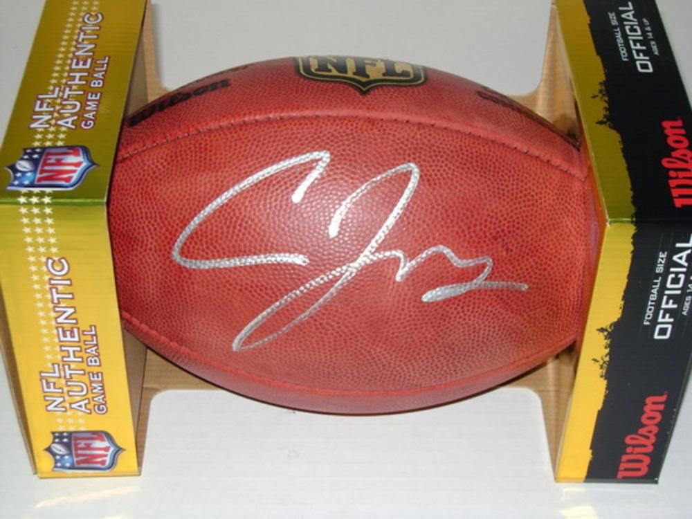NFL - BILLS CARDALE JONES SIGNED AUTHENTIC FOOTBALL