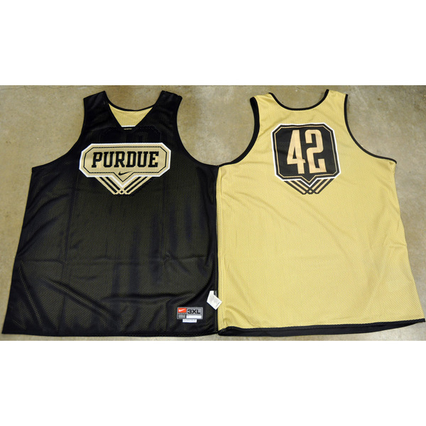 Photo of Nike Men's Basketball Official Practice Jersey // Triple Line // No. 42 // Size 2XL +4 length